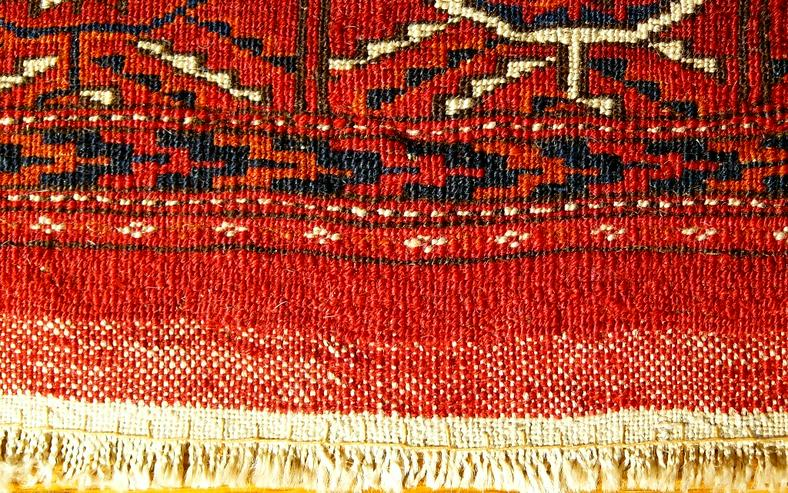 Bild 3: Orientteppich  Herdteppich Tekke antik (T078)