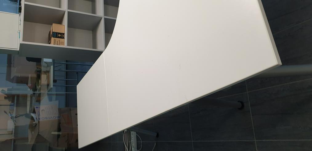 Bild 5: Ikea Galant Eckschreibtisch / Winkelschreibtisch weiß