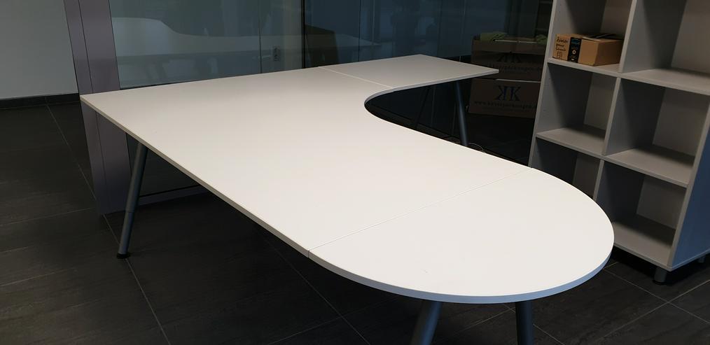 Ikea Galant Eckschreibtisch / Winkelschreibtisch weiß