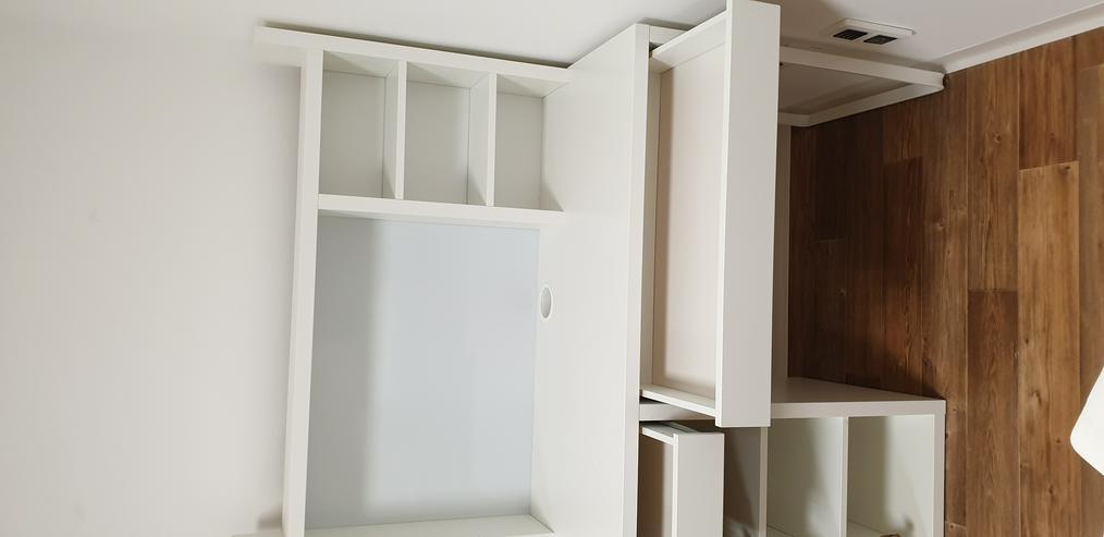 Bild 3: IKEA Schreibtisch Micke weiß