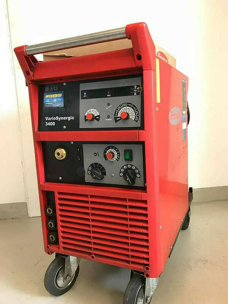 Schweissmaschine Fronius Vario Synergic - Metallverarbeitung & Fahrzeugbau - Bild 1