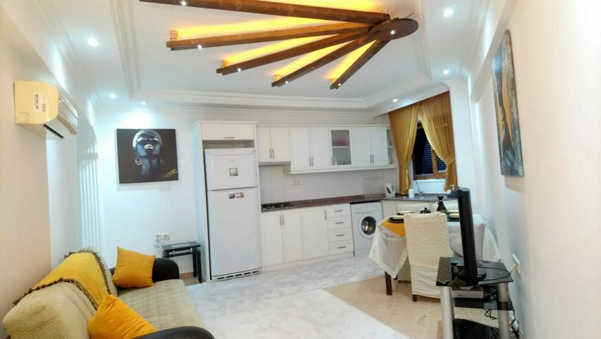 Türkei, Alanya, Budwig, möblierte, renovierte 2 Zi. Wohnung, nur 200 m zum Strand, 325