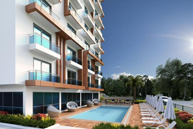Bild 5: Türkei, Alanya, Mahmutlar,Neubau Projekt, Luxus Anlage, 2 Zi., ca. 600 m zum Strand, 321