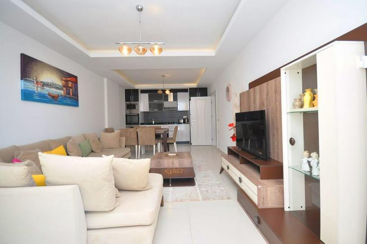 Bild 5: Türkei, Alanya, Mahmutlar, Exklusiv, Luxus,Meerblick, 2 Zimmer, nur 550 m zum Strand, 319