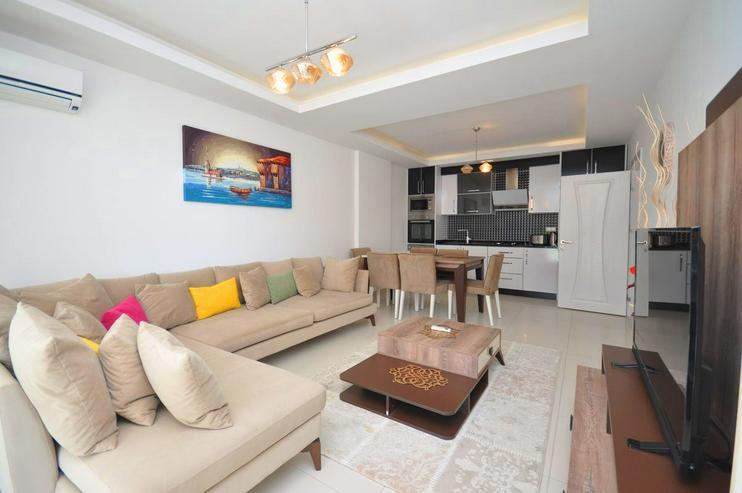 Bild 4: Türkei, Alanya, Mahmutlar, Exklusiv, Luxus,Meerblick, 2 Zimmer, nur 550 m zum Strand, 319