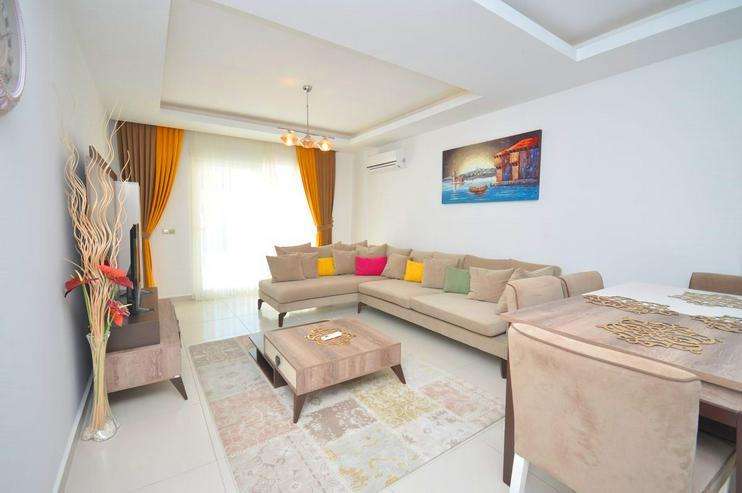 Bild 6: Türkei, Alanya, Mahmutlar, Exklusiv, Luxus,Meerblick, 2 Zimmer, nur 550 m zum Strand, 319