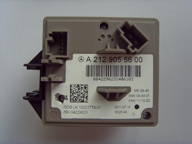 Bild 3: EZS Reparatur Zündschloss Zündschalter MB W204, W207, W212, GLK