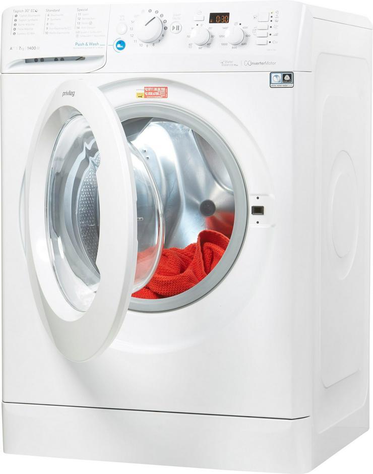 Bild 2: Privileg Waschmaschine PWF-X-743, 7 kg, 1400 U/min