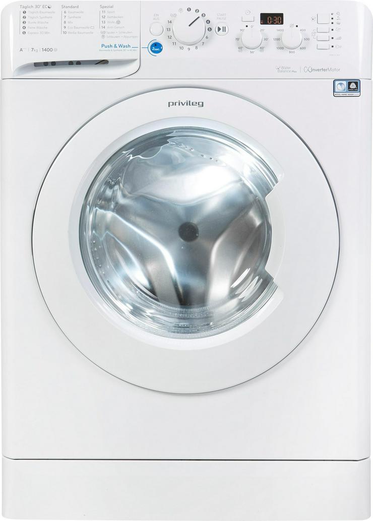 Privileg Waschmaschine PWF-X-743, 7 kg, 1400 U/min