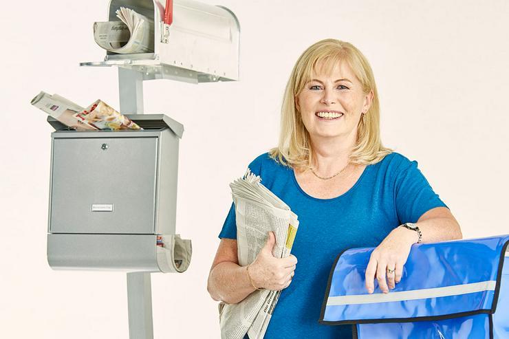 Job, Nebenjob, Minijob - Zeitung austragen in Bächingen an der Brenz