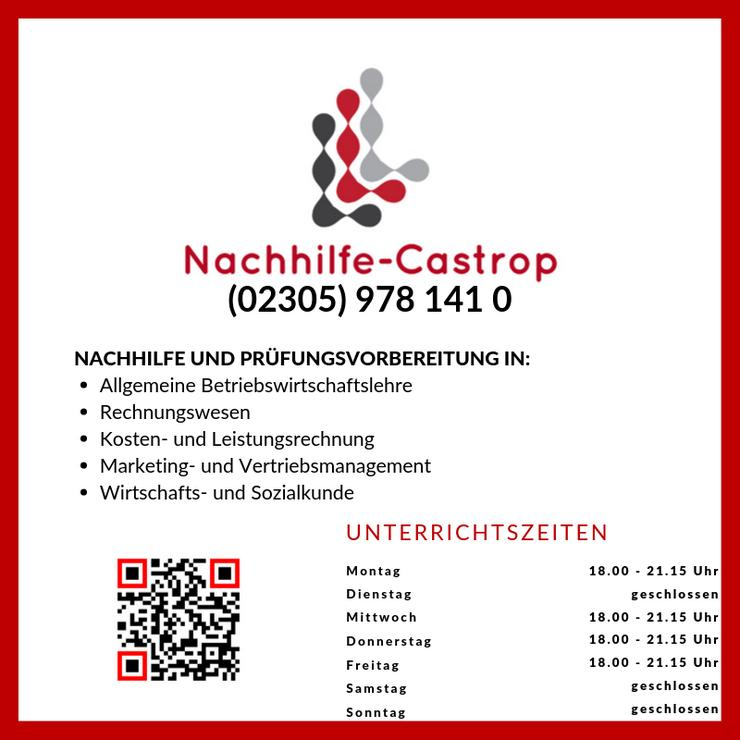 NACHHILFE   PRÜFUNGSVORBEREITUNG FÜR IHK / HWK