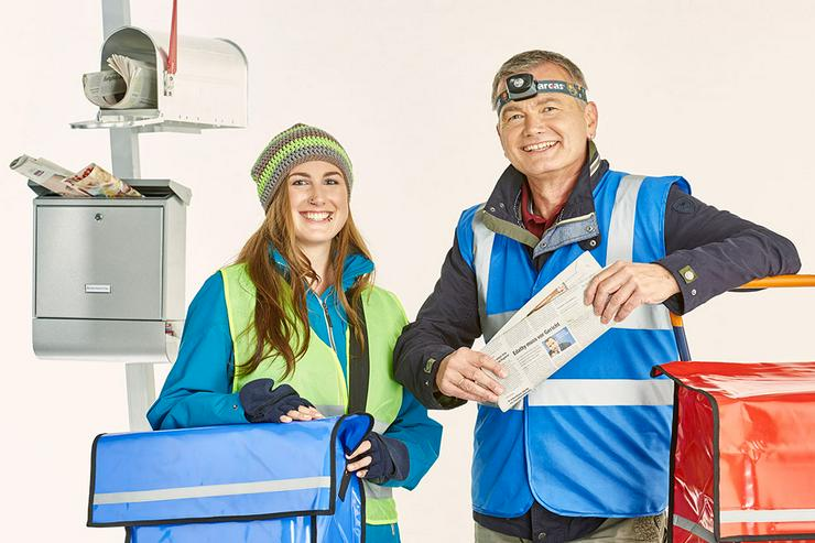 Job, Nebenjob, Minijob, Schülerjob - Zeitung austragen in Warberg