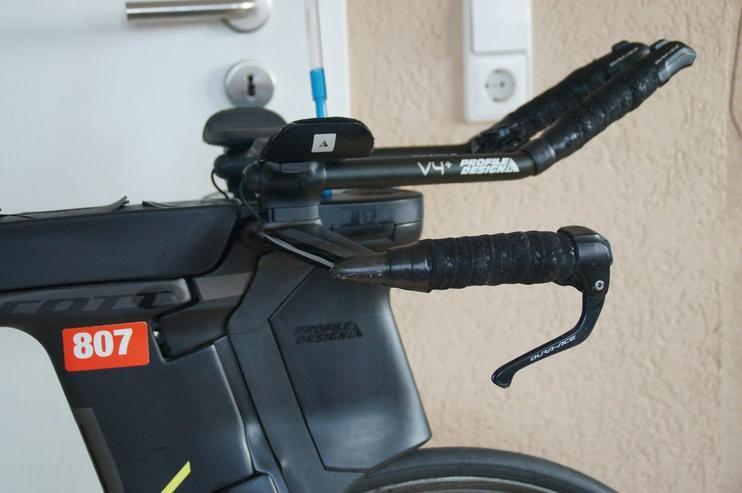 Scott Plasma 5 Triathlon Rad 2017 Größe L Shimano Di2 und ZIPP 2016