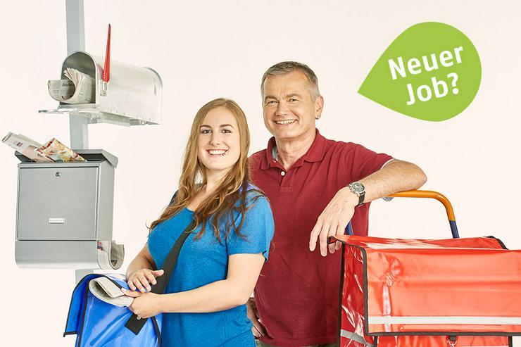 Job, Nebenjob, Minijob - Zeitung austragen in Königsmoor