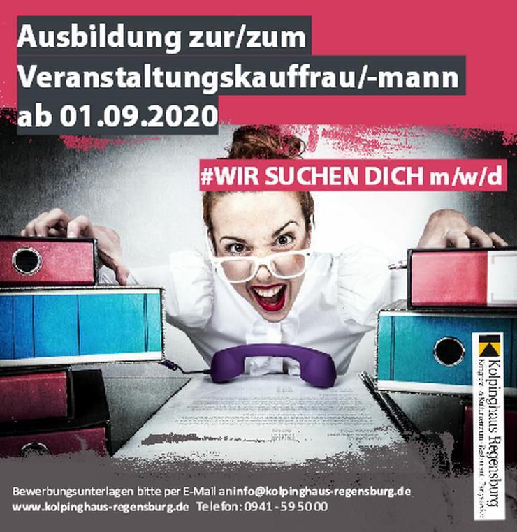Ausbildung zur/zum Veranstaltungskauffrau/-mann ab 01.09.2020
