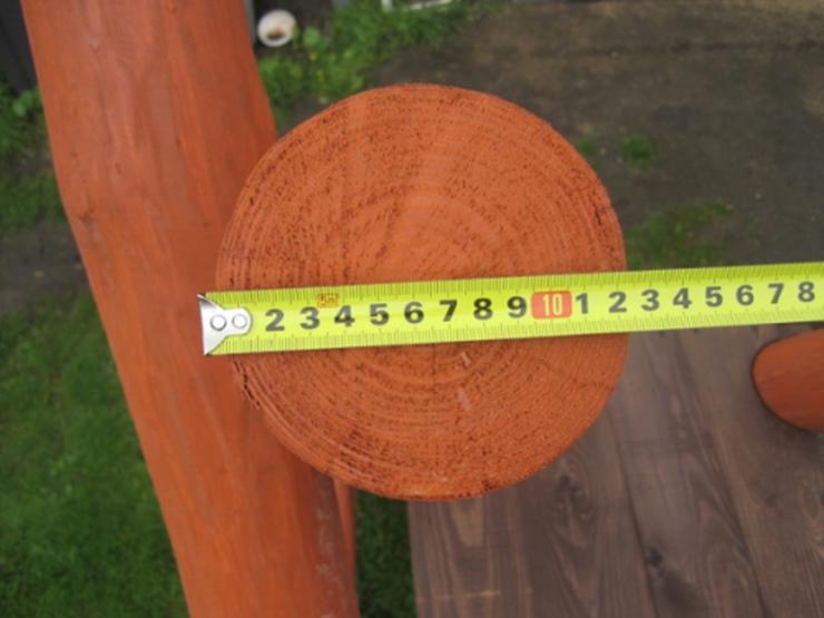 Bild 3: PREMIUM Holz Spielturm mit Kletterturm 2x Schaukel 1x Rutsche Garten Spielhaus