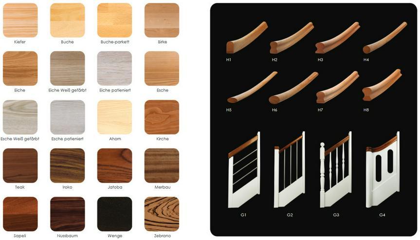 """Bild 3: NEU Holztreppen ''BEN"""" nach Maß mit montage vom Treppen Hersteller"""