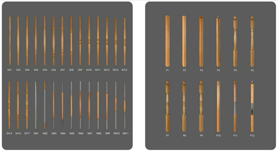 """Bild 4: NEU Holztreppen ''BEN"""" nach Maß mit montage vom Treppen Hersteller"""