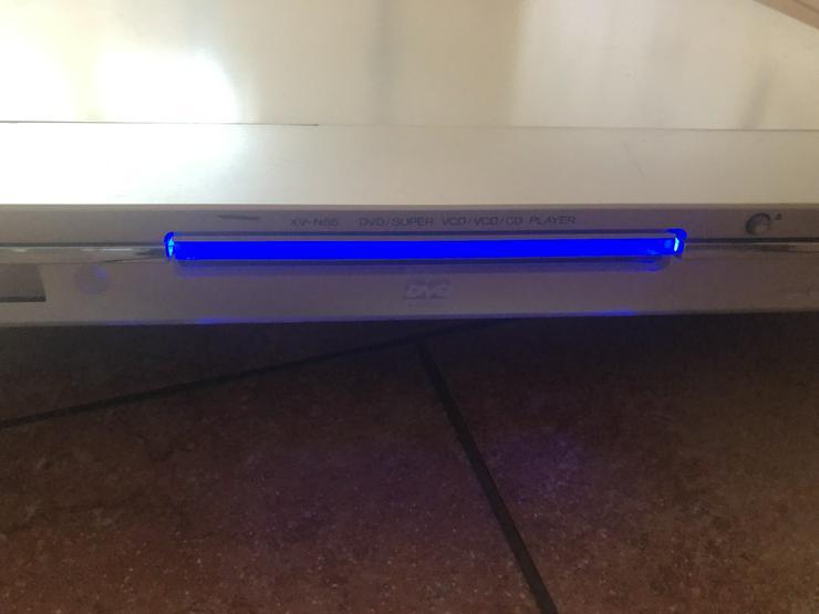 JVC XV-N55 SL DVD Super CD Player Serien Nr. 148K1851