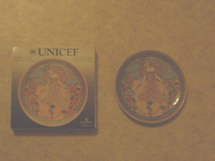Wandsammlerteller Villeroy & Boch Heinrich UNICEF Kinder der Welt
