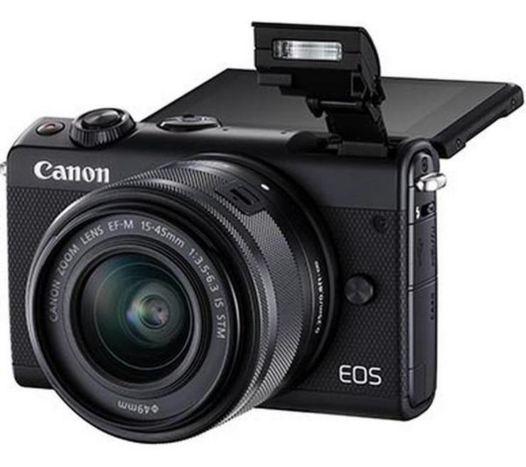 Canon EOS M100 Kit Systemkamera 24.2 Megapixel mit WLAN *NEU*