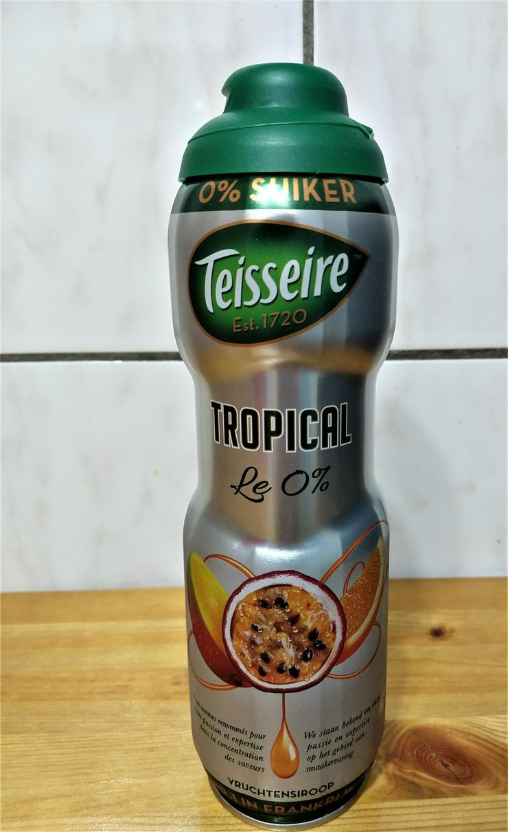 Teisseire Sirup Tropical 0% Zucker, 5 Flaschen je 750 ml