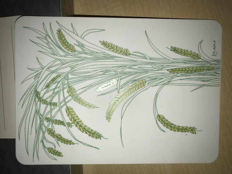 "Rosenthal Postkarte (Neu) Motiv ""Indian Rice)"