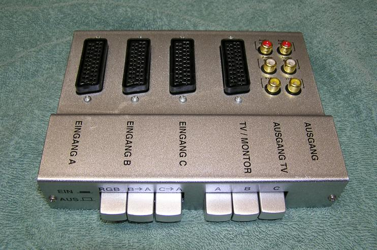 Scart-AV-Umschaltbox