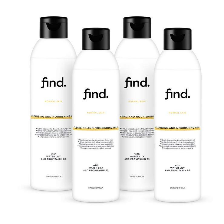 FIND - Reinigungs- und Pflegemilch - Für alle Hauttypen