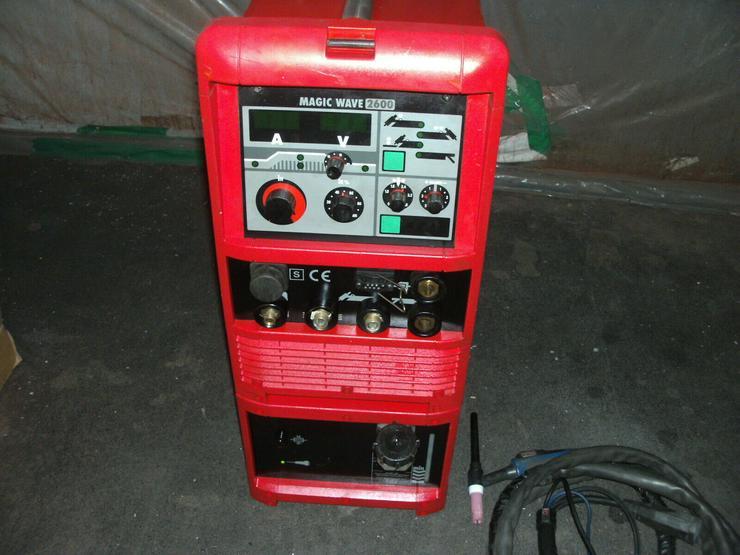 Fronius Magicwave 2600 AC/DC WIG Schweißgerät