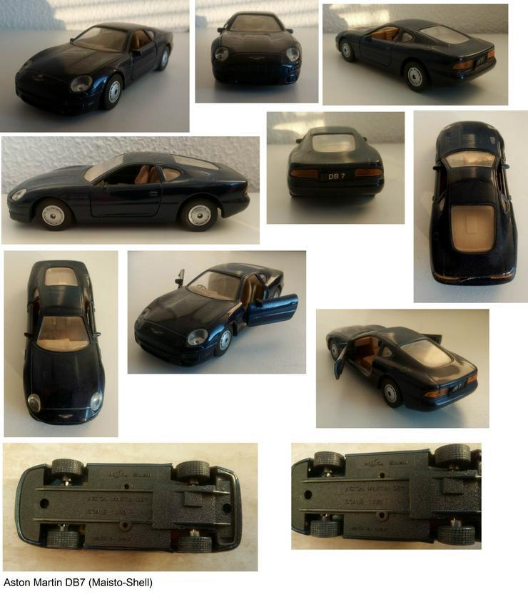 6 Modellautos Shell) - ca 20 Jahre alt - 7,50 € pro Stück