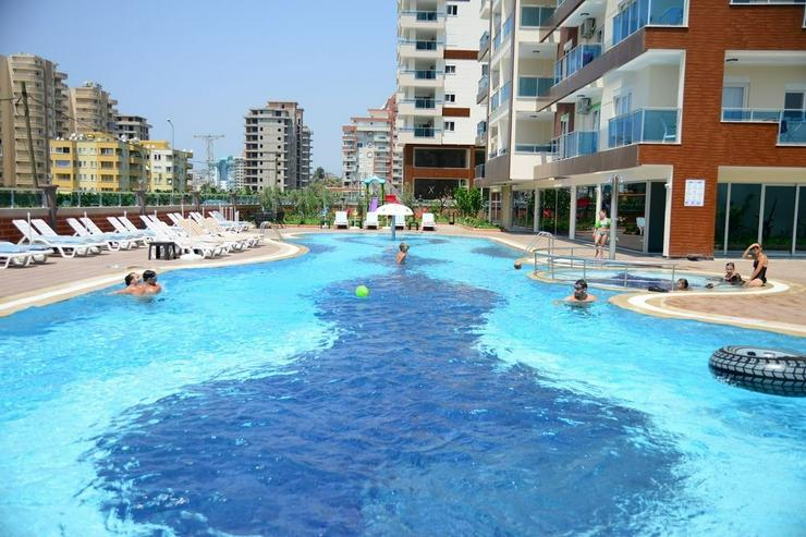 Türkei, Alanya, Mahmutlar, Luxus, möbl. 2 Zimmer  Wohnung, Meerblick, 318