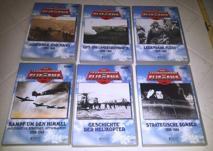 DVD's Set DAS JAHRHUNDERT DES Fliegens (FP)