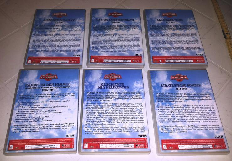 Bild 2: DVD's Das Jahrhundert des Fliegens (FP) noch 1 x runter gesetzt
