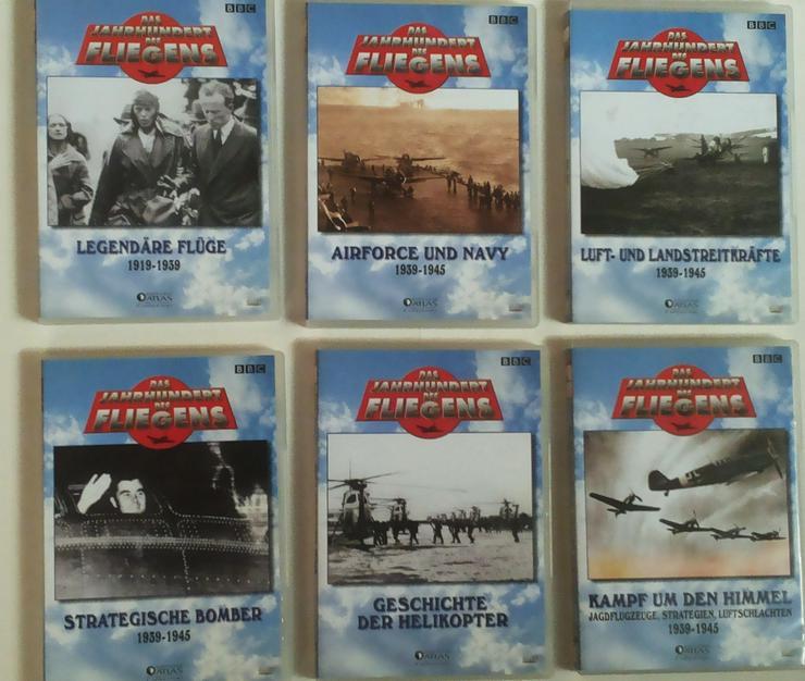 Bild 4: DVD's Das Jahrhundert des Fliegens (FP) noch 1 x runter gesetzt
