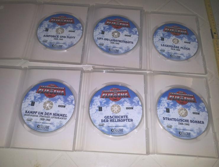 Bild 3: DVD's Das Jahrhundert des Fliegens (FP) noch 1 x runter gesetzt