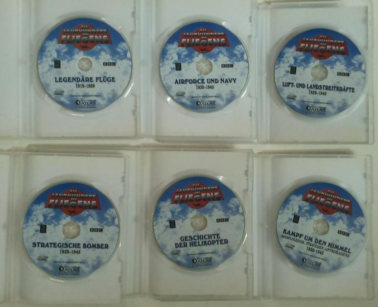 Bild 6: DVD's Das Jahrhundert des Fliegens (FP) noch 1 x runter gesetzt