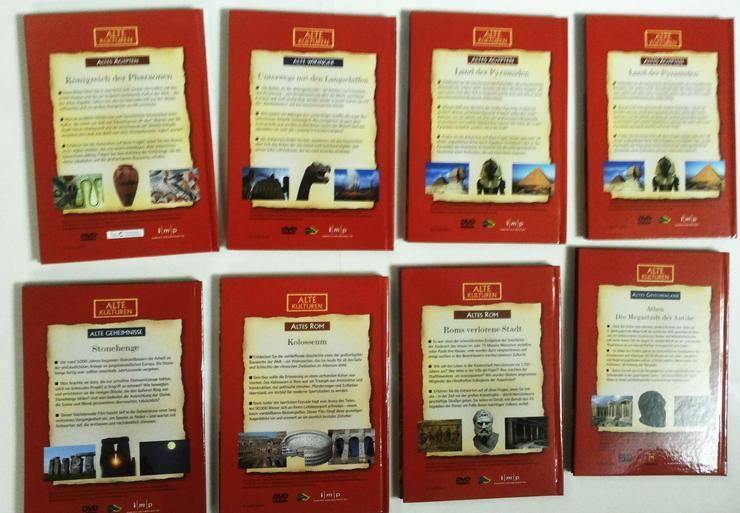 Bild 2: DVD's Set Alte Kulturen (FP) noch 1 x runter gesetzt