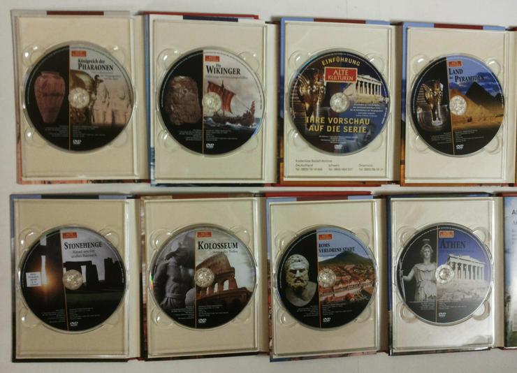Bild 3: DVD's Set Alte Kulturen (FP) noch 1 x runter gesetzt