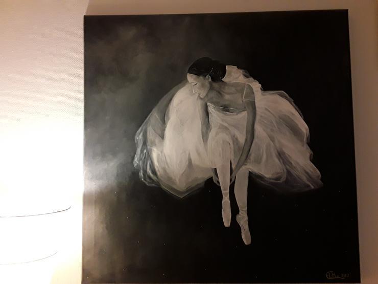 Acrylbild auf Leinwand  90 x 90 cm