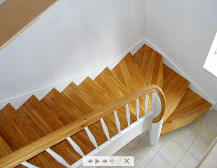 """NEU Holztreppen ''Collin"""" nach Maß mit montage vom Treppen Hersteller - Weitere - Bild 1"""