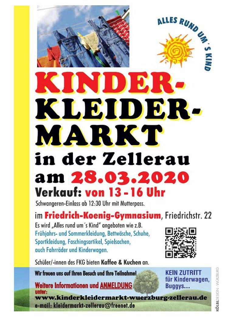 28.03.2020, 13-16 Uhr, Kinderkleider-/Spielzeugmarkt Würzburg Zellerau