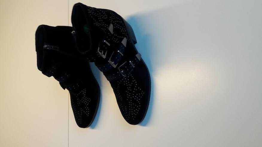 Designer Lederstiefel von Bruno Premi - Größe 37 - Bild 1