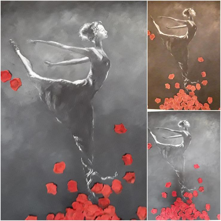 Acrylbild/Ölbild auf Leinwand 100 x100 cm - Gemälde & Zeichnungen - Bild 1