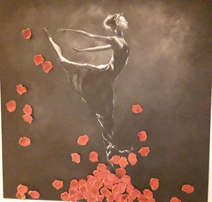 Bild 2: Acrylbild/Ölbild auf Leinwand 100 x100 cm