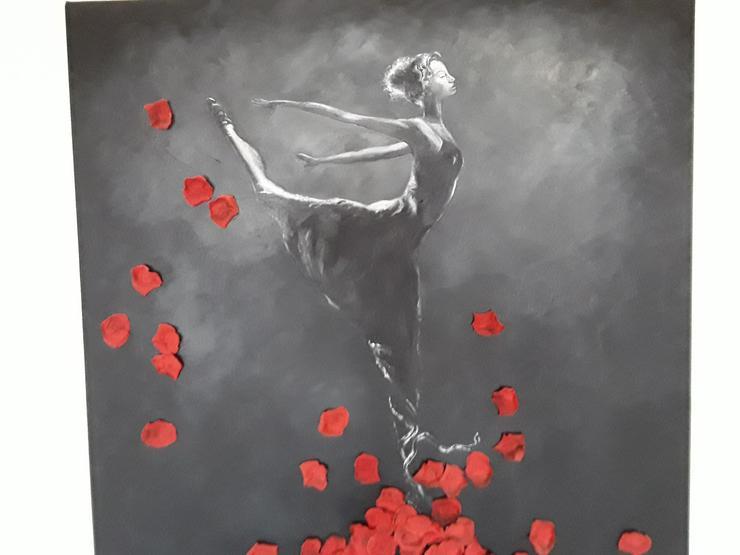 Bild 3: Acrylbild/Ölbild auf Leinwand 100 x100 cm