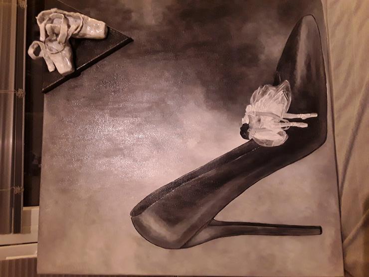 Bild 4: Acrylbild 80x 80 cm auf Leinwand