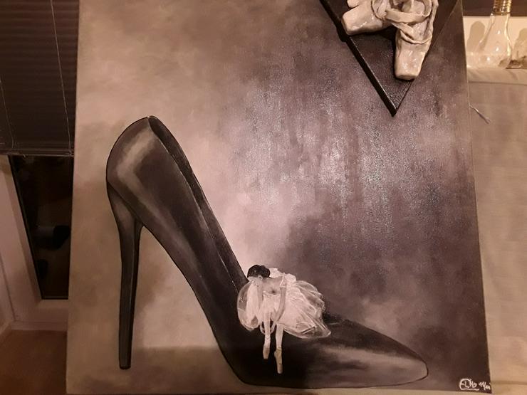 Bild 2: Acrylbild 80x 80 cm auf Leinwand