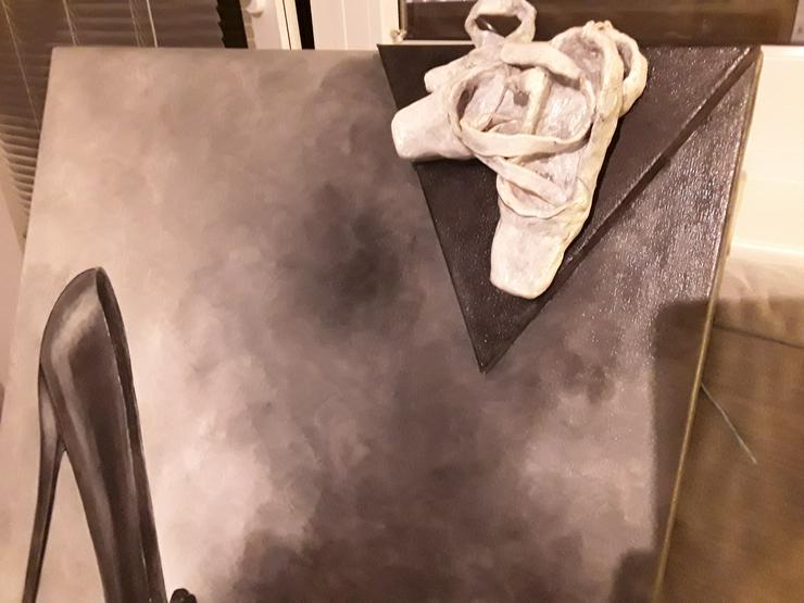 Bild 3: Acrylbild 80x 80 cm auf Leinwand