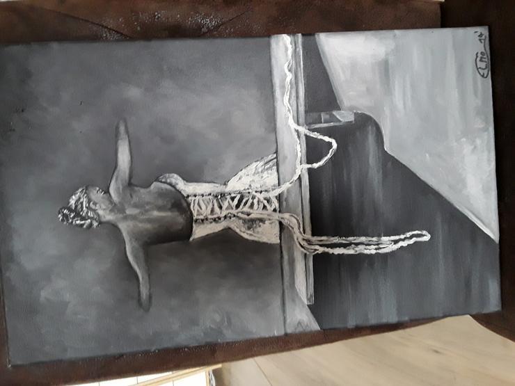 Bild 4: Acrylbild auf Leinwand  50 x 30 cm